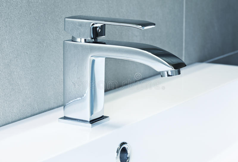 Download Modern tap stock image. Image of silver, water, wash - 24809013