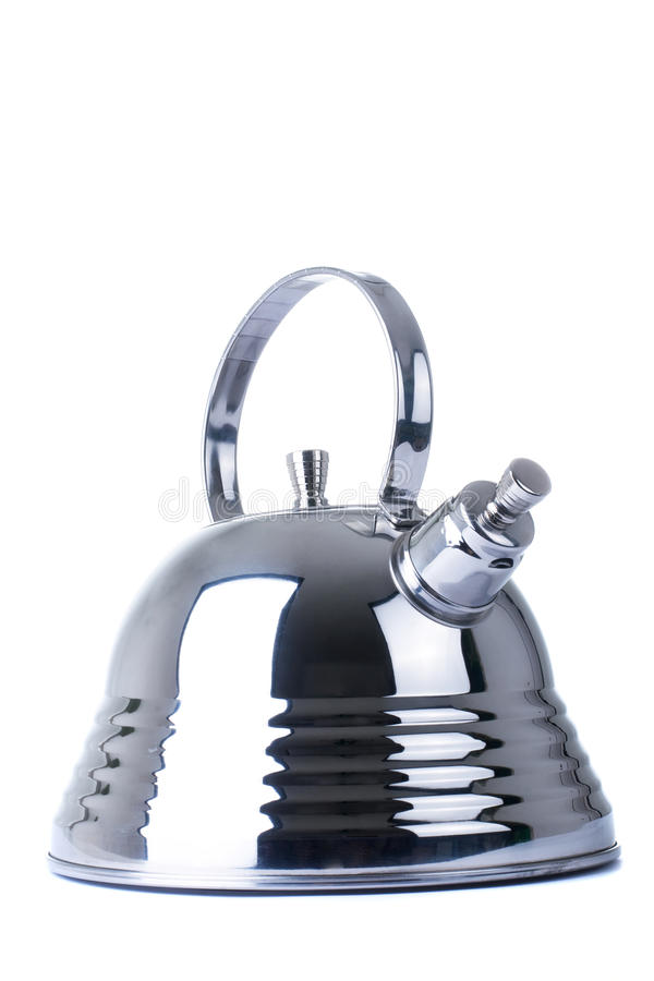 Download Modern Teapot On A White Background Stock Image - Image: 12543019