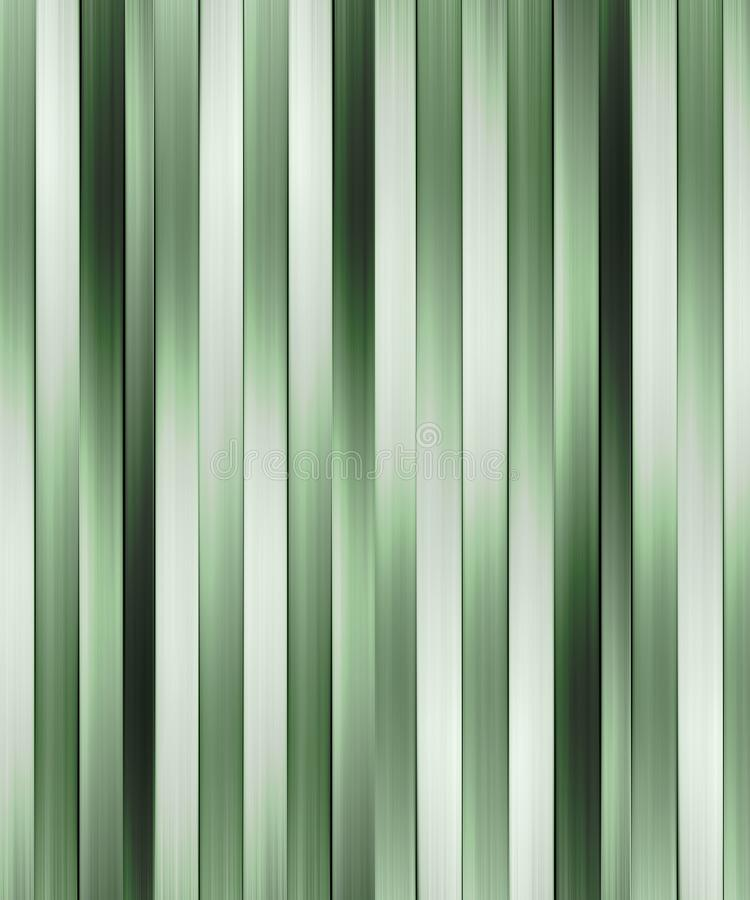 Modern Tech Stripes Pattern. Digital technique abstract geometric horizontal stripes pattern background design in green colors vector illustration