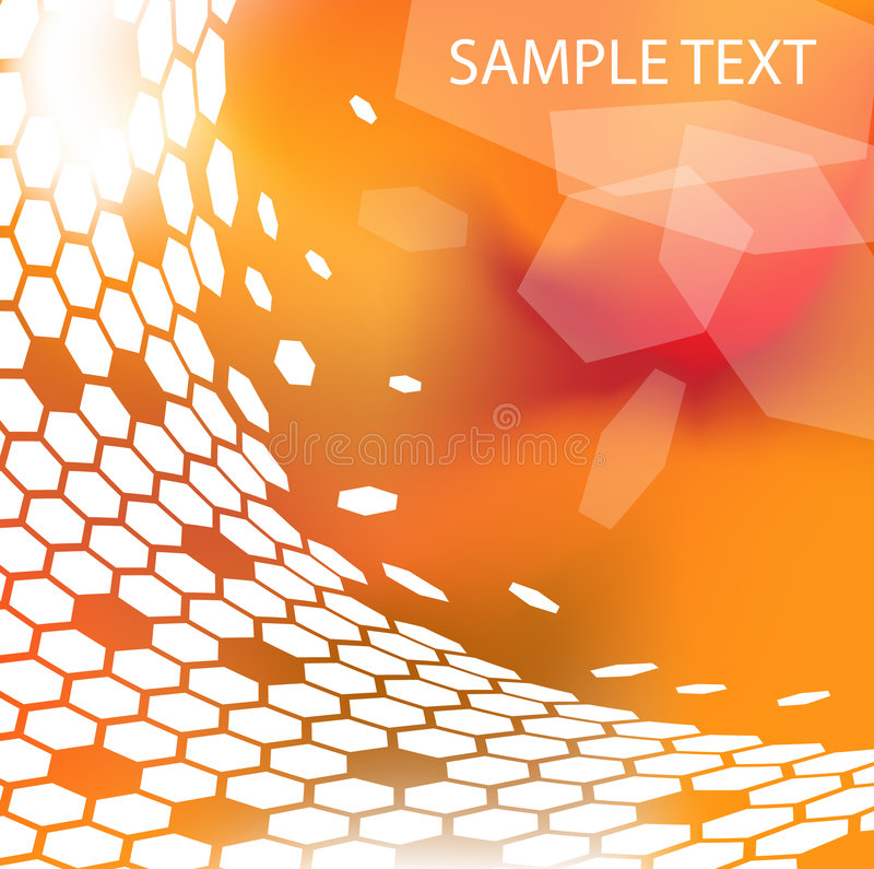 Modern technical background stock illustration