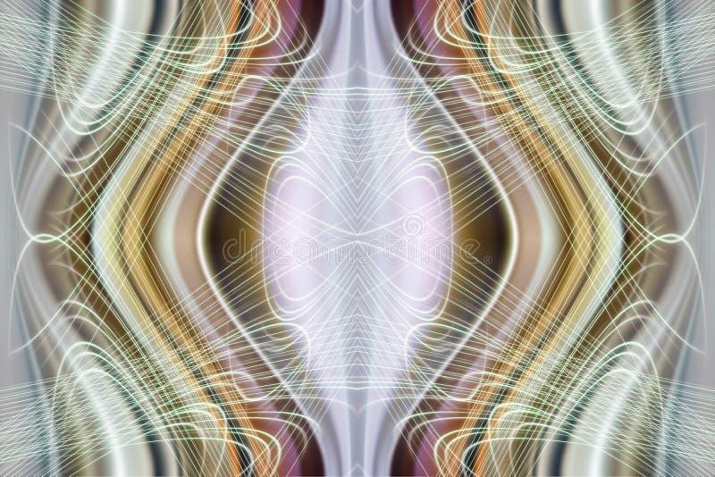 Modern technologisch futuristisch abstract patroon vector illustratie