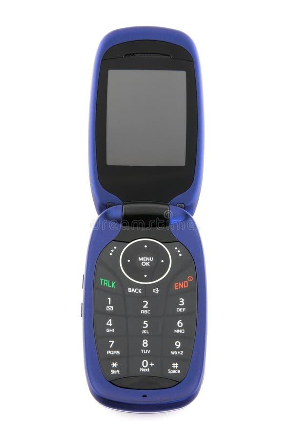 modern telefon för cellclamshell arkivfoto