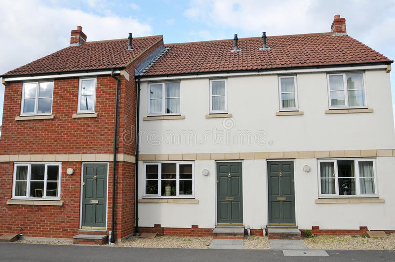 Download Modern Terraced Houses Royalty Free Stock Images - Image: 15763339