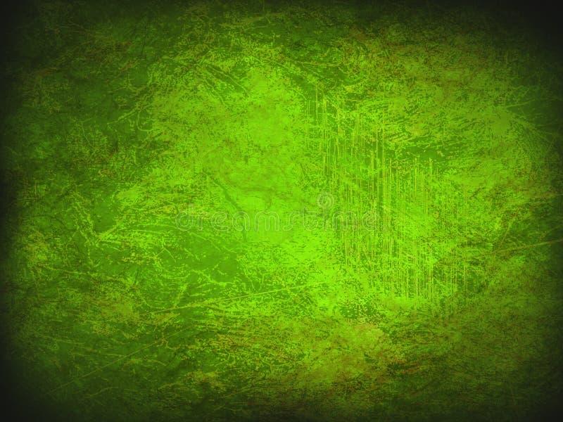 Modern textur för armégräsplanabstrakt begrepp Tappninggrunde och smutsig bakgrund med mörka hörn stock illustrationer