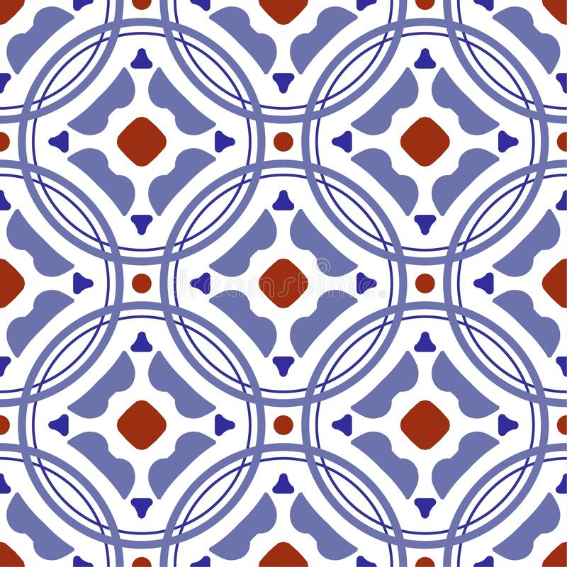 Modern tile pattern vector stock images