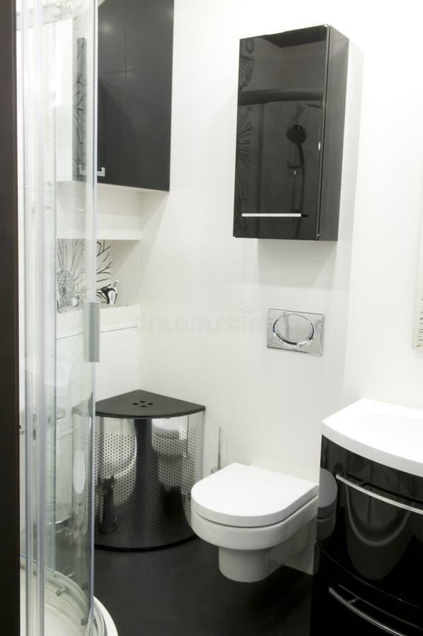 modern toalett arkivbilder