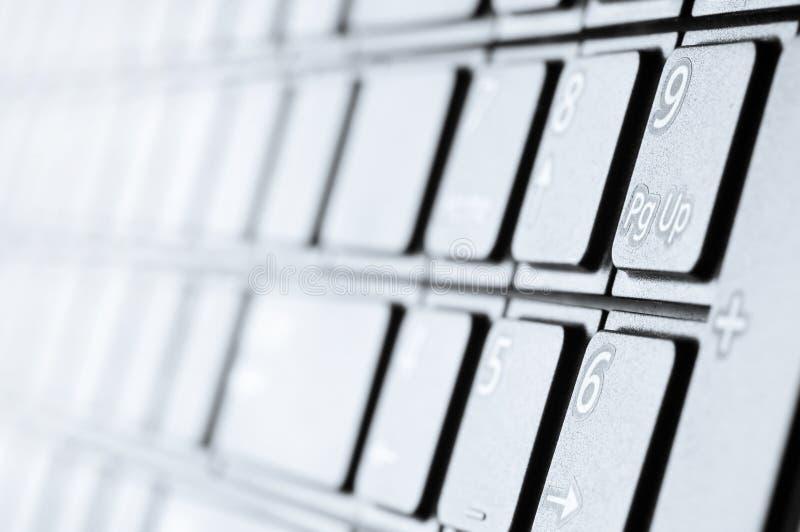 Modern toetsenbord royalty-vrije stock foto's