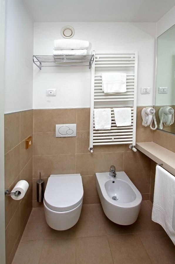 Modern toilet royalty free stock photo