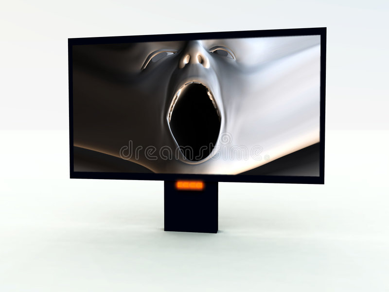 Modern TV 3 stock photos