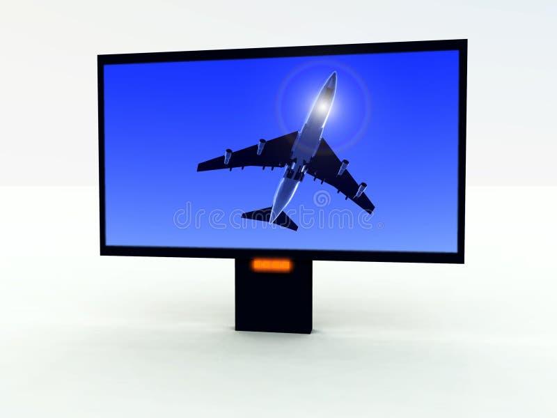 Modern TV 401 royalty free stock photography
