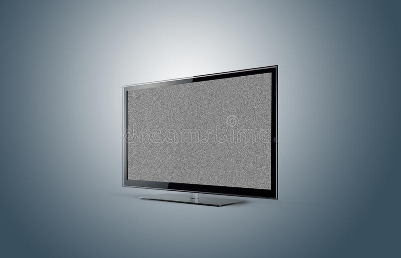 Download Modern TV Plasma With No Signal Stock Photo - Image: 22628800