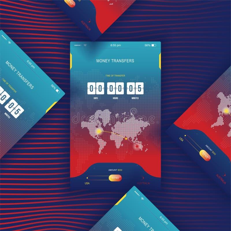 Modern ui mobile app for online transfer money with timer countdown mobile app for online transfer money with timer countdown ux application gumiabroncs Images