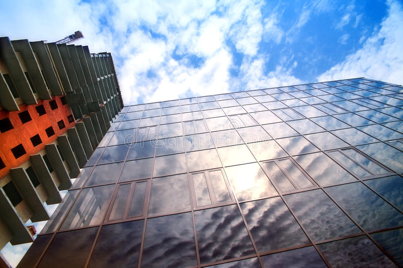 Download Modern Under Construction Many-storeyed Buildings Stock Image - Image: 25002033