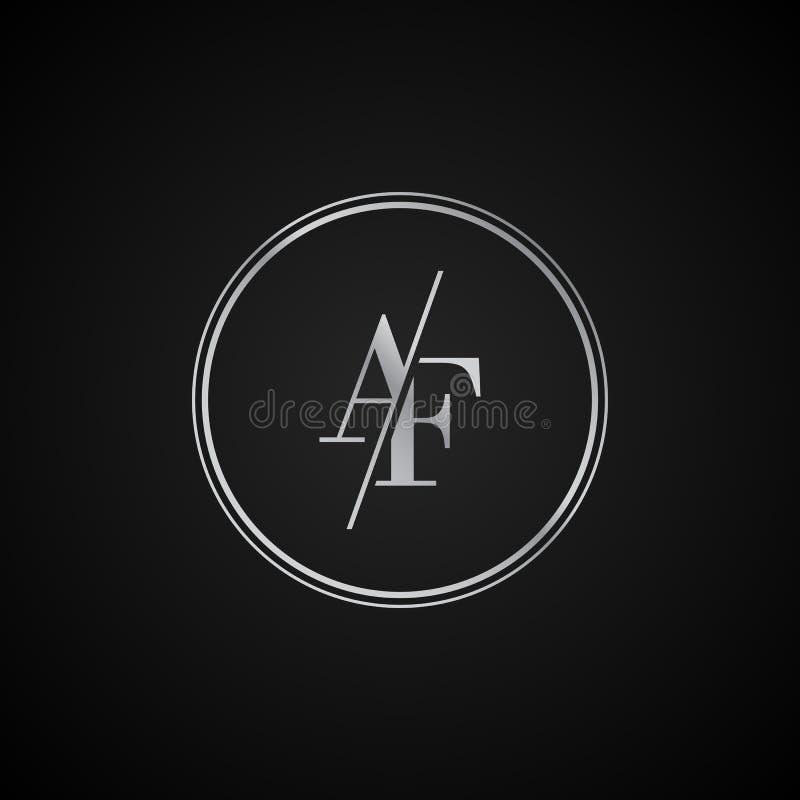 AF Letter Logo Design With Creative Modern Trendy