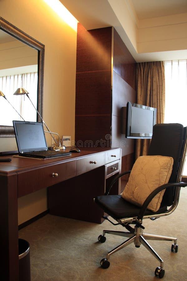 Hotel Room Desk: Modern Hotel Reception Desk Stock Photo