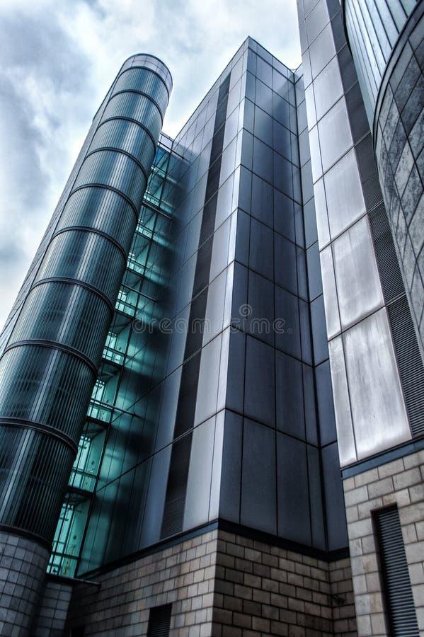 Modern urban office building stock photography