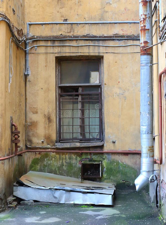 Modern urban slums. St. Petersburg, Russia royalty free stock image