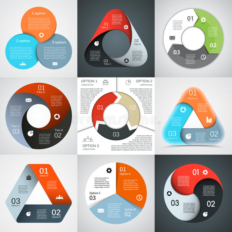 Modern vector info graphic for business project vector illustration