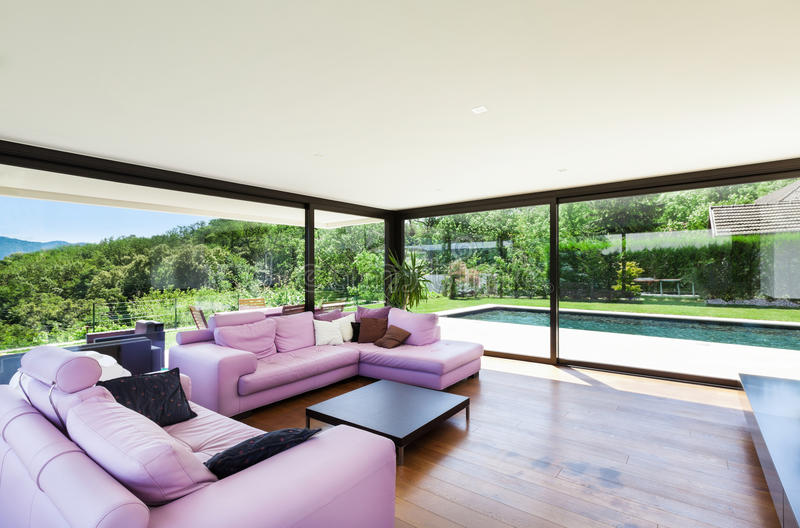 Download Modern Villa, Interior Royalty Free Stock Photos - Image: 32028728