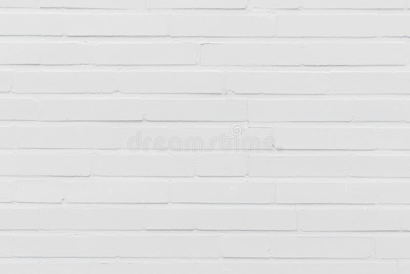 Modern vit textur f?r bakgrund f?r tegelstenv?gg fotografering för bildbyråer