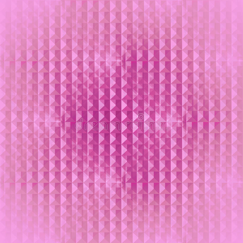 Modern wafel-weefsel vaag patroon roze viooltje royalty-vrije illustratie