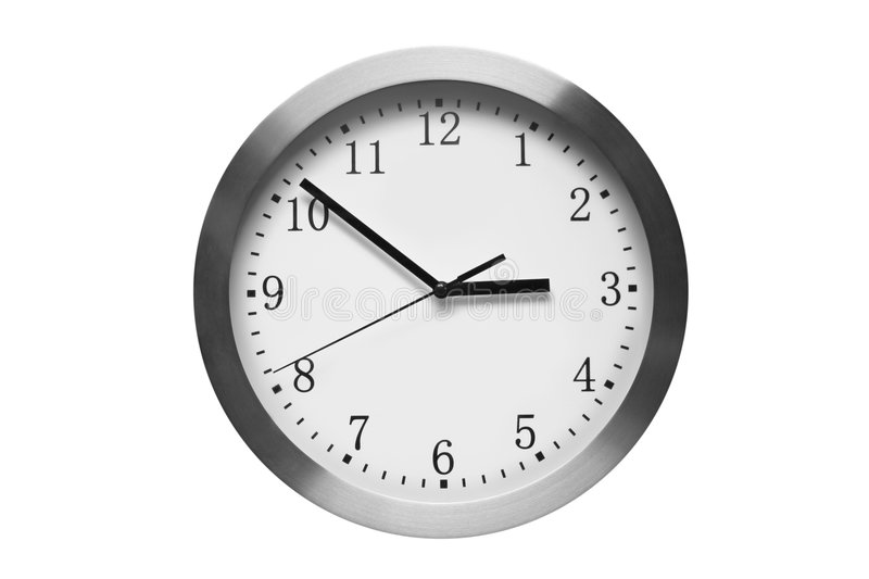Download Modern wall clock stock image. Image of design, clock - 6428027