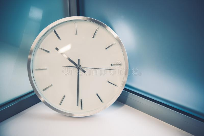Modern Wall Clock royalty free stock images