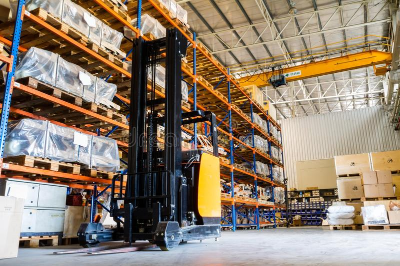 Download Modern warehouse stock photo. Image of facility, factory - 33740034