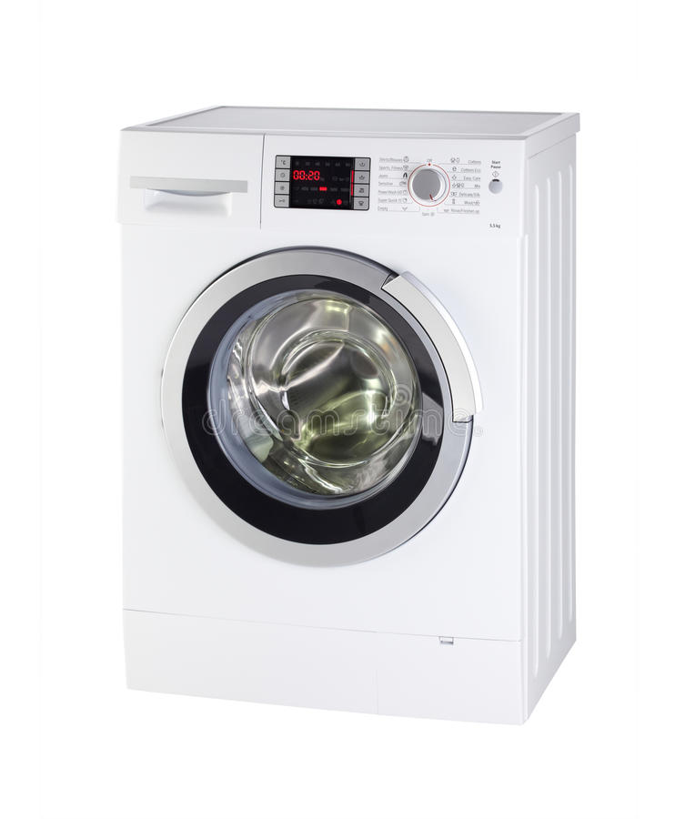 Download Modern Washing Machine stock image. Image of clean, studio - 18336339