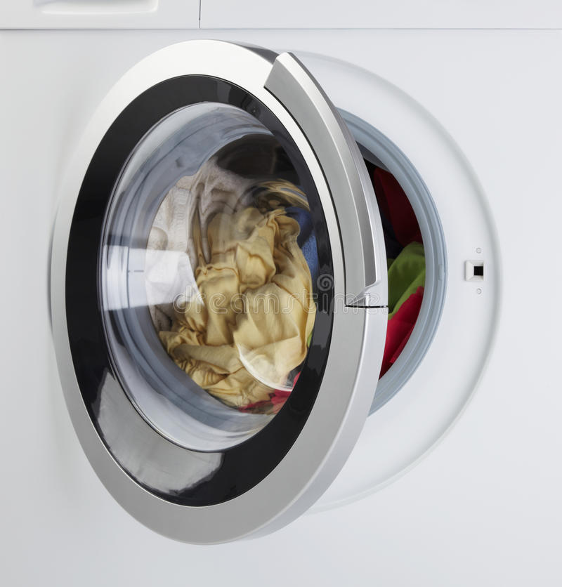 Download Modern Washing Machine stock image. Image of hygiene - 18678193