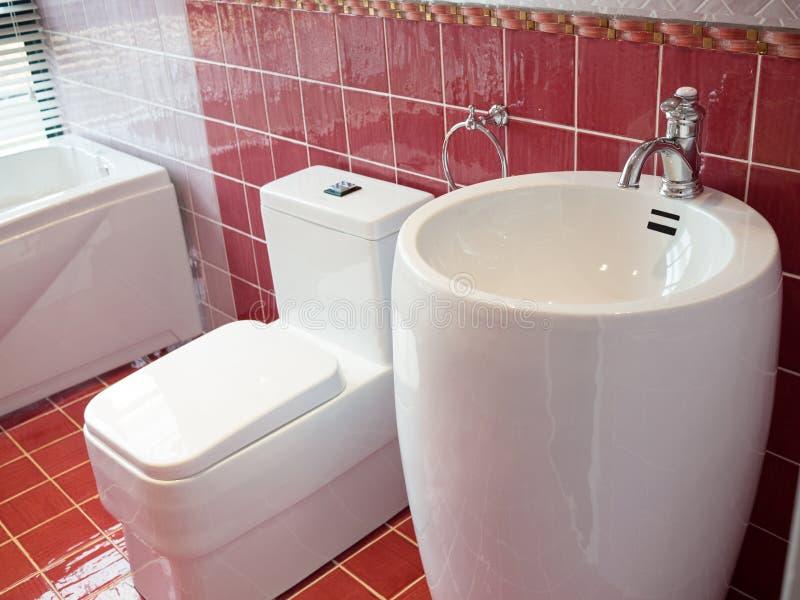 Modern washroom royalty free stock images