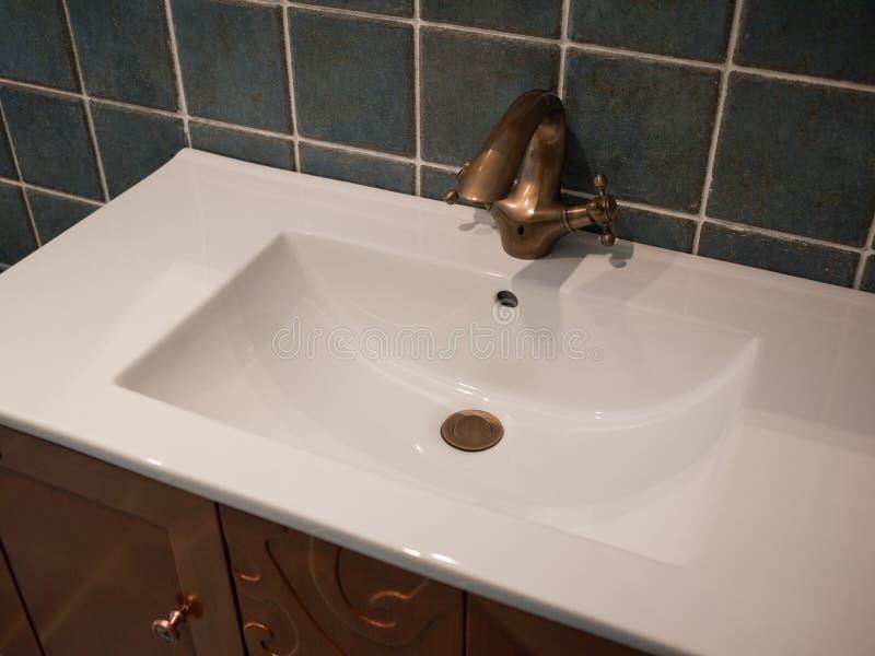 Modern washroom royalty free stock photos