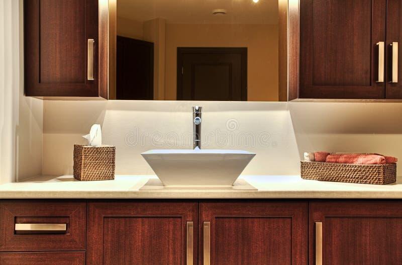 Modern washroom stock images