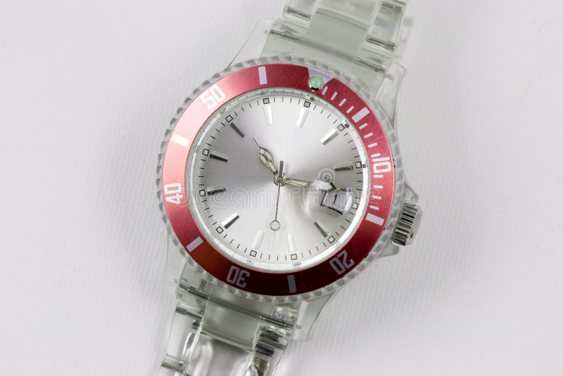 Modern watch stock images