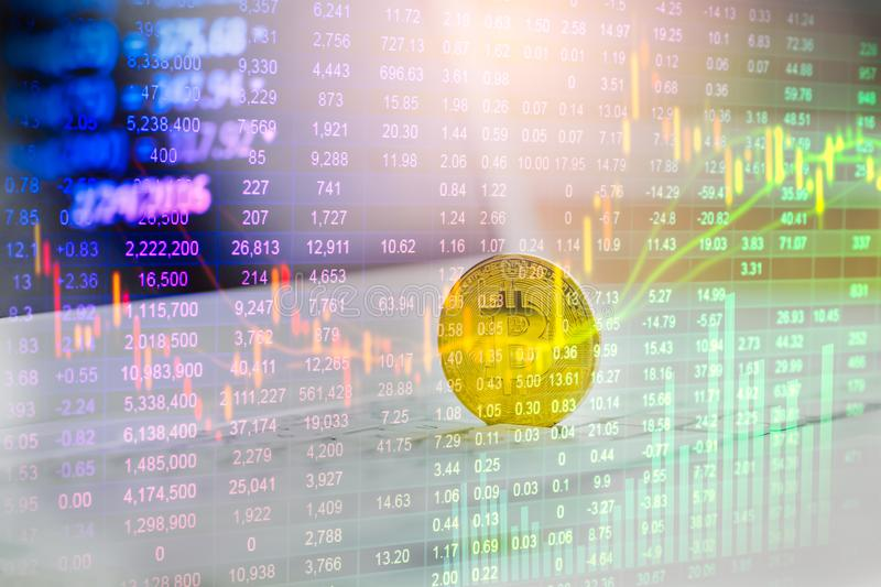 Modern way of exchange. Bitcoin is convenient payment in global economy market. Virtual digital currency and financial investment. Trade concept. Abstract stock photography
