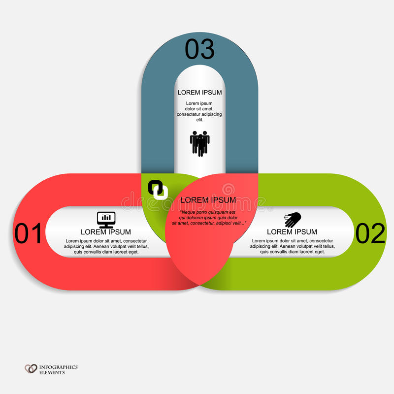 Modern website templates. Trendy design template for infographics, website templates royalty free illustration