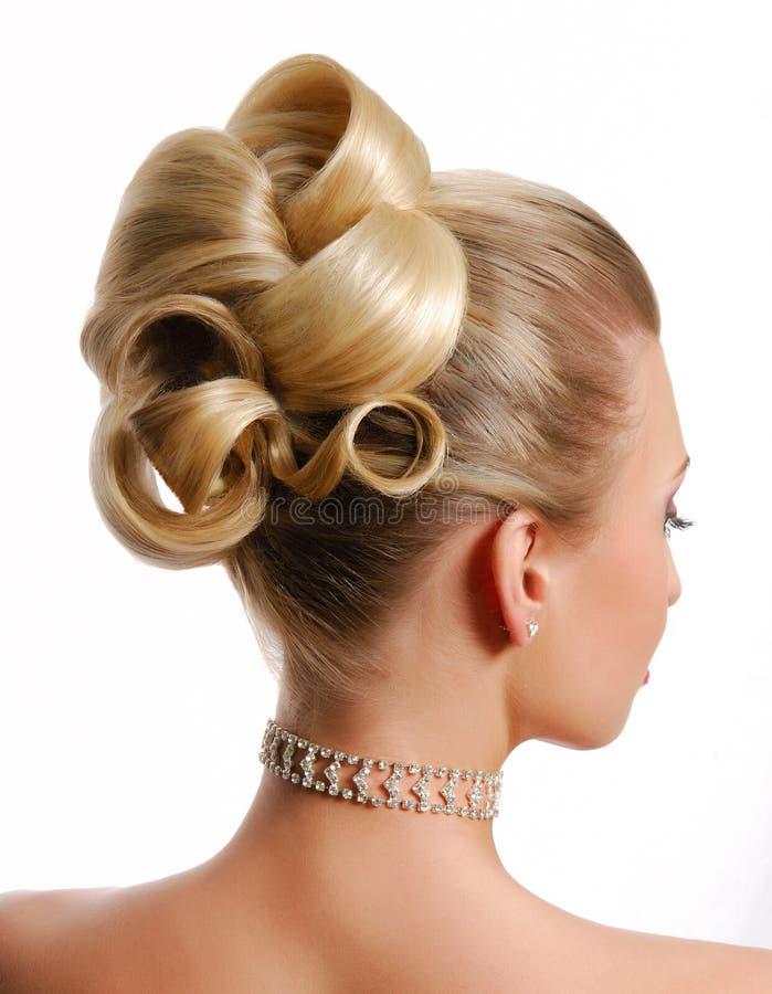 Download Modern wedding hairstyle stock photo. Image of beautiful - 6294220