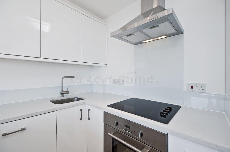 modern white för kök royaltyfri fotografi