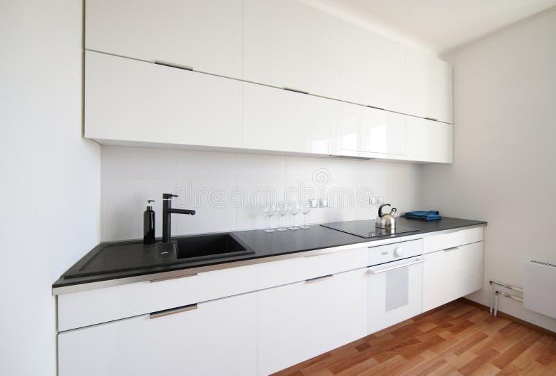 Download Modern White Kitchen Interior Stock Photo - Image: 28509590