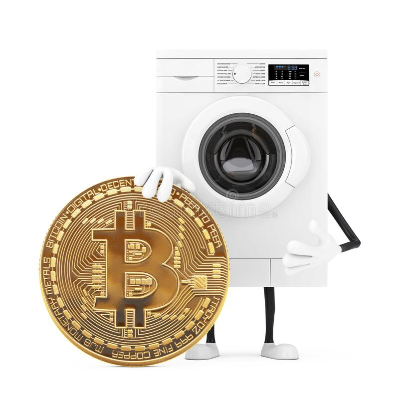 how to wash bitcoins stock