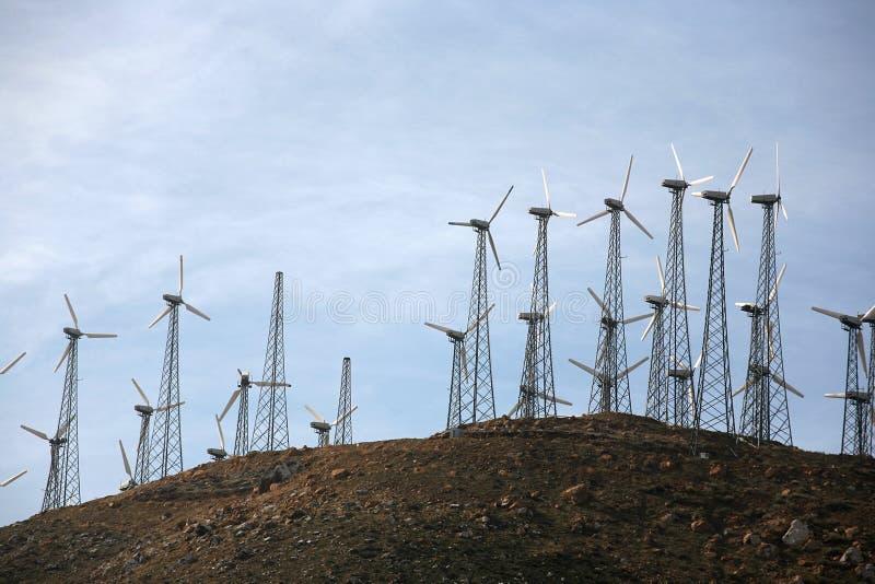 Download Modern wind energy stock photo. Image of modern, retro - 7270804