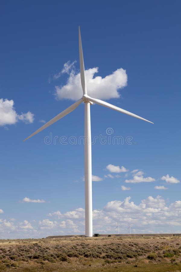Modern Wind Turbine royalty free stock images