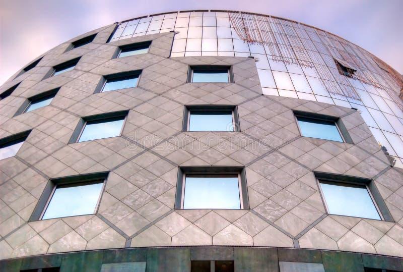 Modern window building stock image