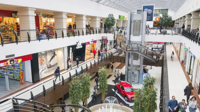 Modern winkelcomplex royalty-vrije stock fotografie