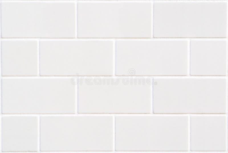 Modern wit bakstenenmozaïek royalty-vrije stock foto's