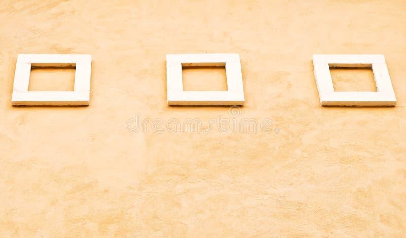 Modern wit frame stock foto's