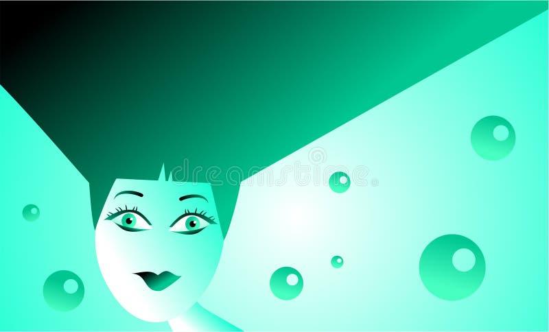Download Modern woman stock illustration. Illustration of people - 741940