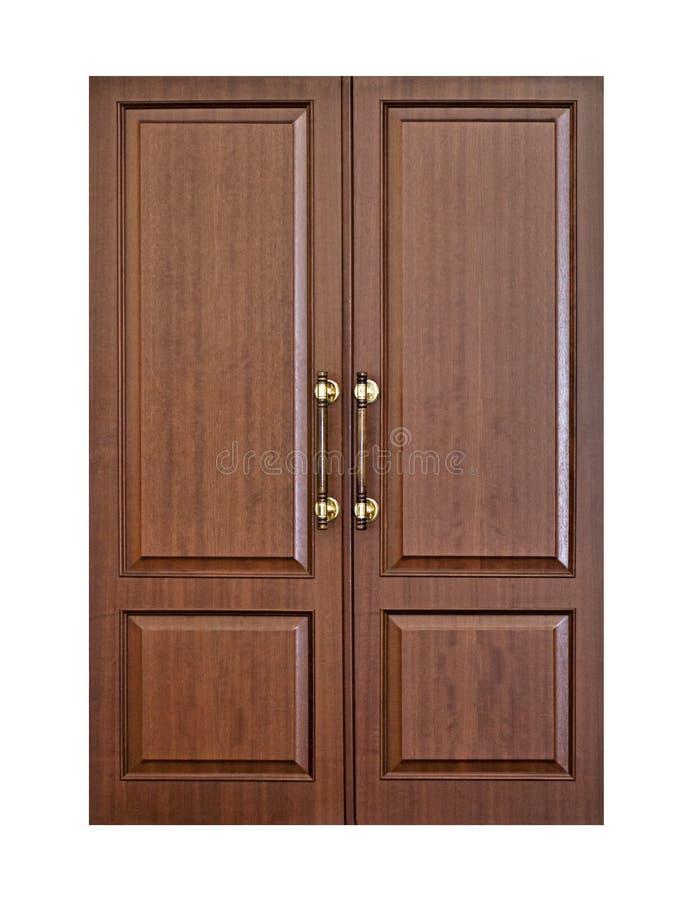 Free Modern Wooden Door Stock Image - 107730031