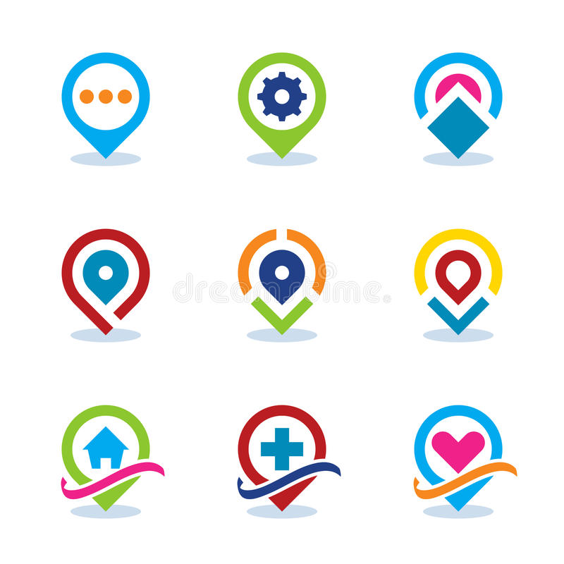 Modern world app map locator social internet community position download modern world app map locator social internet community position flat icon eps10 stock vector gumiabroncs Gallery