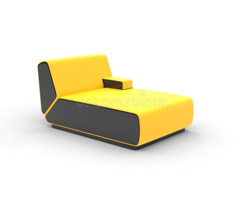 Modern Yellow LoungeModern Yellow Lounge Stock Photo   Image  59008352. Modern Yellow Lounge Chair. Home Design Ideas